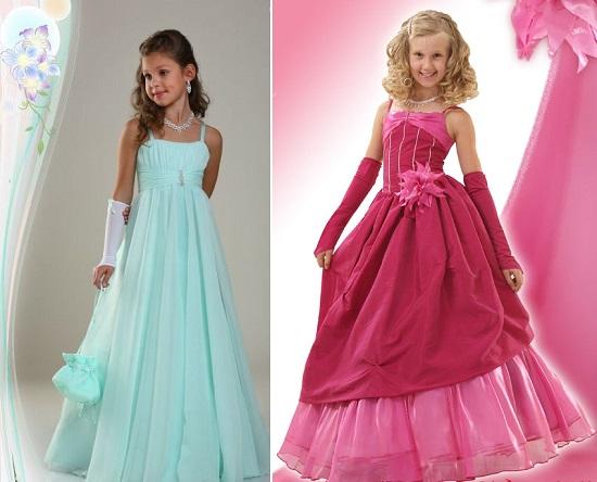 Платье для выпускного бала для девочки